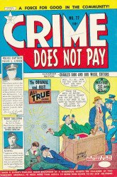 Lev Gleason Publications's Crime Does Not Pay Issue # 77b