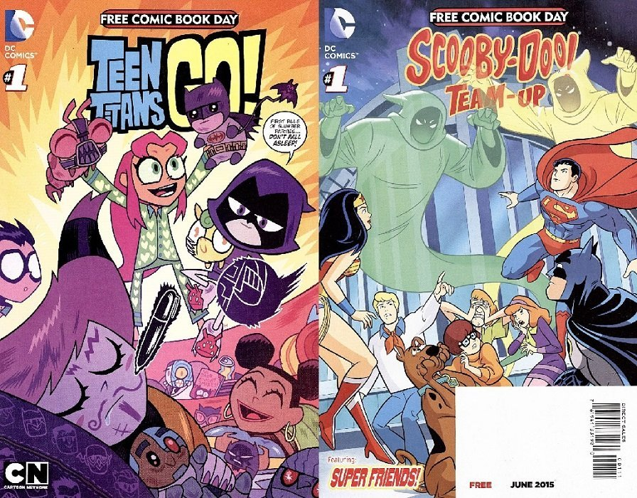 DC Comics SCOOBY DOO TEAM UP #12 2nd Print Variant Gotham Girls Harley Quinn NM