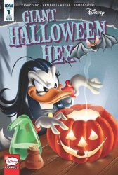 IDW Publishing's Disney's Giant Halloween Hex Issue # 1sub