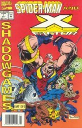 Marvel Comics's Spider-Man and X-Factor: Shadowgames Issue # 1