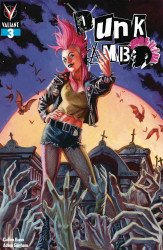 Valiant Entertainment's Punk Mambo Issue # 3