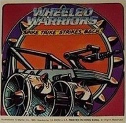 Mattel's Wheeled Warriors Issue spike trike