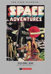 PS Artbooks's Pre-Code Classics: Space Adventures Hard Cover # 1
