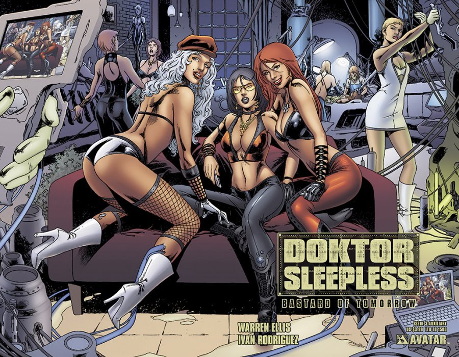 Avatar Presss Doktor Sleepless Issue 3e