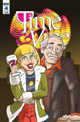 IDW Publishing's Time & Vine Issue # 4b