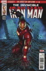 Marvel Comics's The Invincible Iron Man Issue # 593