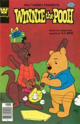 Gold Key's Winnie the Pooh Issue # 8whitman
