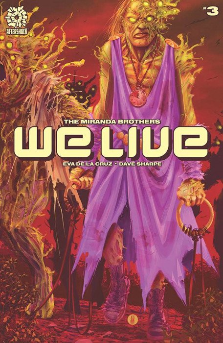 WE LIVE 2 2020 Miranda Main Cover A 1st Print Aftershock Comics NM