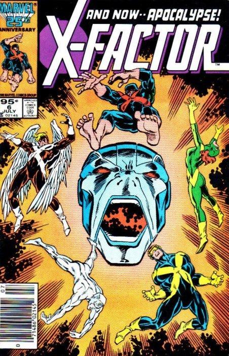 X-FACTOR # 48 1989-9.4 COMIC
