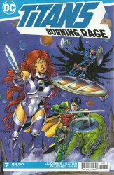 DC Comics's Titans: Burning Rage Issue # 7