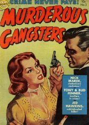 Avon Periodicals's Murderous Gangsters Issue # 3