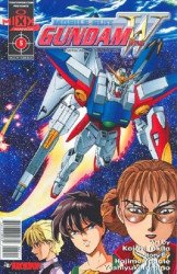TokyoPop/Mixx's Gundam Wing Issue # 5