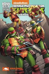 IDW Publishing's Teenage Mutant Ninja Turtles: New Animated Adventures Issue # 20acc