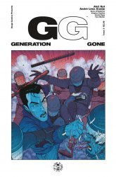 Image Comics's Generation Gone Issue # 3