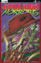 Keenspot Entertainment's Junior High Horrors Issue # 1c