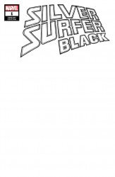 Marvel Comics's Silver Surfer: Black Issue # 1e