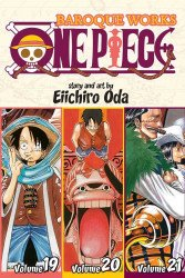 Shonen Jump Manga's One Piece: Baroque Works TPB # 19-21