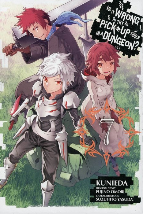 is it wrong to try to pick up girls in a dungeon soft cover 6