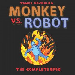IDW Publishing's Monkey Vs Robot: The Complete Epic TPB # 1