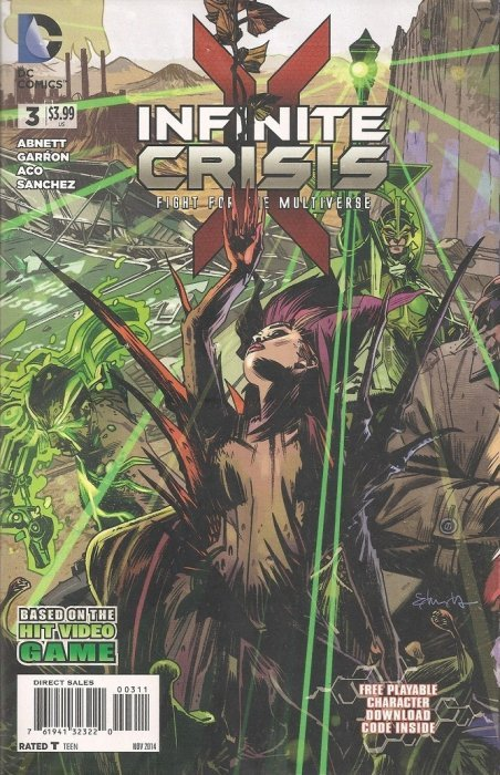 INFINITE CRISIS FIGHT FOR THE MULTIVERSE 1 2 3 4 1st print DC playable character