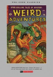 PS Artbooks's Pre-Code Classics: Weird Adventures Hard Cover # 1