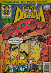 London Editions Magazines's Count Duckula Issue # 5
