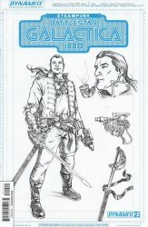 Dynamite Entertainment's Steampunk/Battlestar Galactica 1880 Issue # 2b