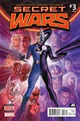 Marvel Comics's Secret Wars Issue # 3