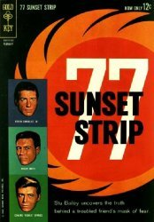Dell Publishing Co.'s 77 Sunset Strip Issue # 2