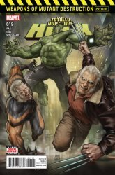 Marvel Comics's The Totally Awesome Hulk Issue # 19