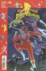 BOOM! Studios's Mighty Morphin Power Rangers Issue # 38b