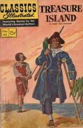 Gilberton Publications's Classics Illustrated #64: Treasure Island Issue # 6