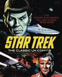 IDW Publishing's Star Trek: The Classic UK Comics Hard Cover # 3