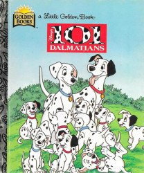 Golden Books 's 101 Dalmatians Hard Cover # 1