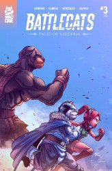 Mad Cave Studios's Battlecats: Tales of Valderia Issue # 3