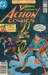 DC Comics's Action Comics Issue # 521