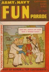 Harvey Publications's Army and Navy Fun Parade Issue V4-3