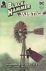 Dark Horse Comics's Black Hammer / Justice League: Hammer of Justice Issue # 4d