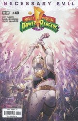 BOOM! Studios's Mighty Morphin Power Rangers Issue # 40
