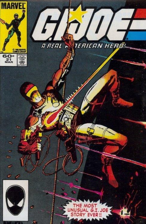 GI Joe #1 FRIDGE MAGNET comic book real american hero