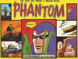 Pacific Club's Phantom: Inexorables - 1942/43 Daily Strips Soft Cover # 1