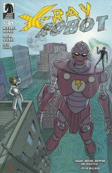Dark Horse Comics's X-Ray Robot Issue # 4