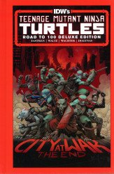 IDW Publishing's Teenage Mutant Ninja Turtles: Road to 100 Hard Cover # 1