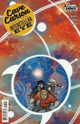 DC Comics's Cave Carson has an Interstellar Eye Issue # 4