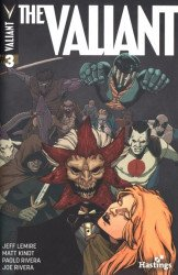 Valiant Entertainment's The Valiant Issue # 3hastings