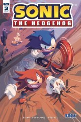 IDW Publishing's Sonic the Hedgehog Issue # 3ri