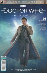 Titan Comics's Doctor Who: The Tenth Doctor - The Road To The 13th Doctor Issue # 1b