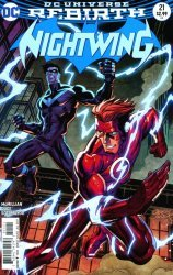 DC Comics's Nightwing Issue # 21b