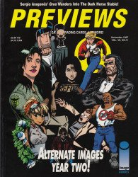 Diamond Comics Distribution's Previews Issue # 110