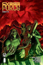 Top Cow's Cyberforce Issue # 10